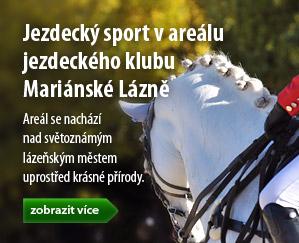 Jezdecký sport v areálu Jezdeckého klubu Mariánské Lázně - Jezdecká akademie Mariánské Lázně