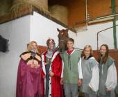Svatováclavské setkání - žáci Jezdecké akademie Mariánské Lázně